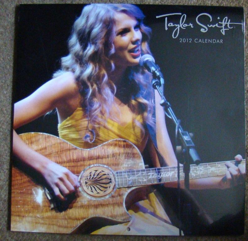Taylor Swift 2012 Calendar 2012 Taylor Swift Calendar