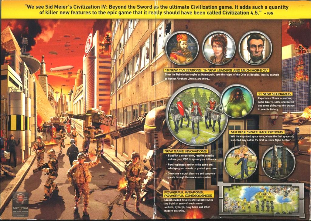 Civ iv beyond sword civilization iv expansion beyond the sword 4 sciox Choice Image