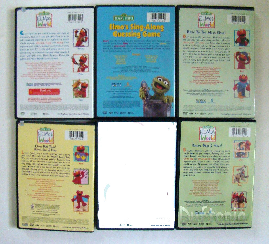 Sesame Street Elmos World Dvd S