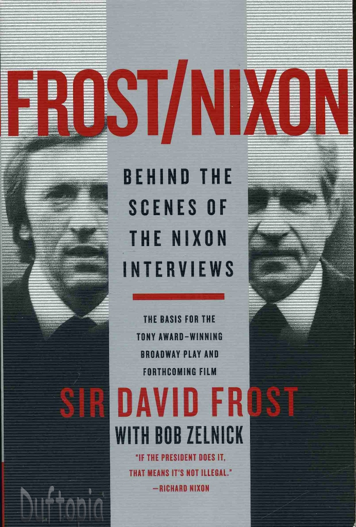 frost nixon book amp dvd movie historic collection nw