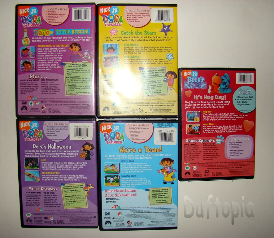 Nick Jr Dora Collection