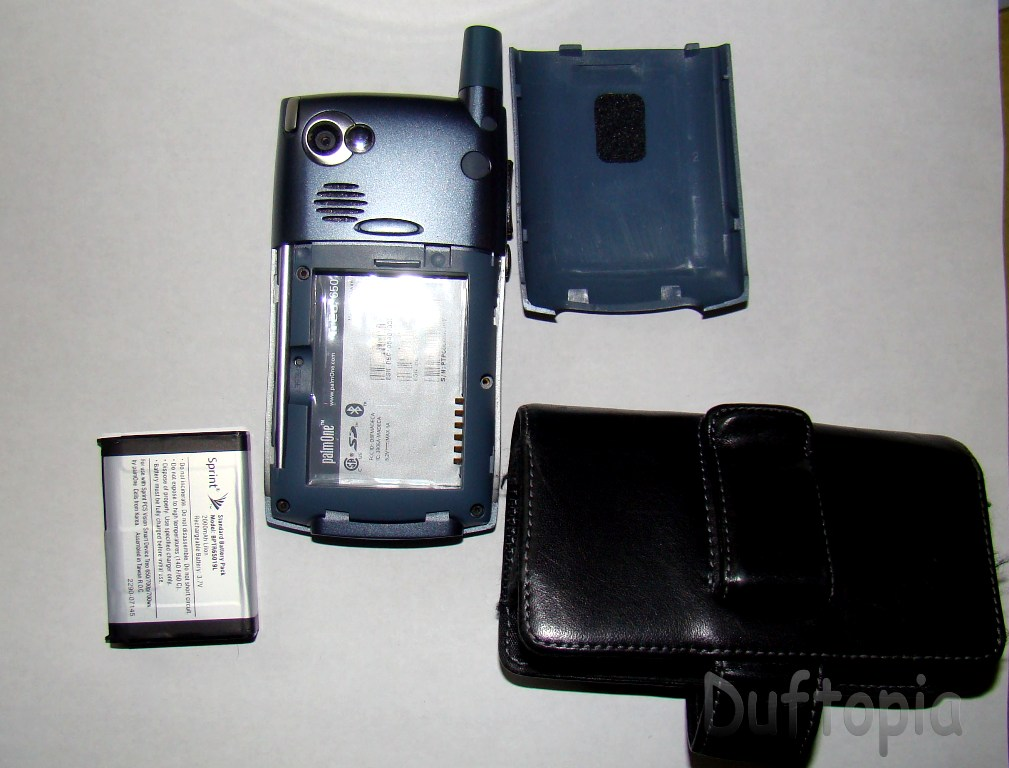 Sprint treo cell phone and case unknown! (5)