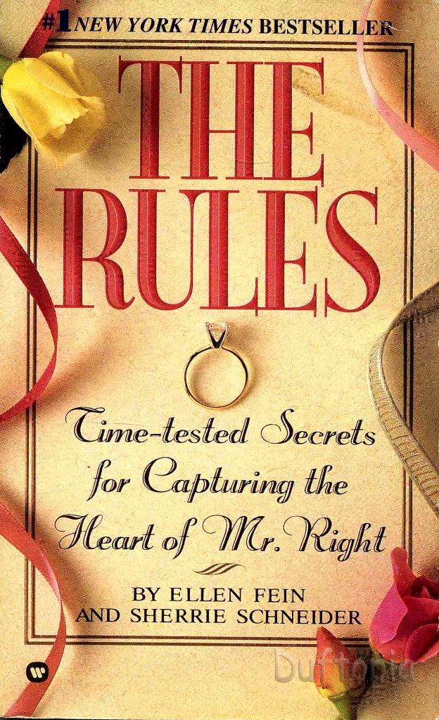 the rules dating fein The first rule of dating: there are no rules  selling boyfriend bible the rules, by ellen fein and  changed on the dating scene in 20 years that the new.