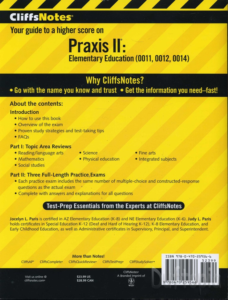 Free praxis ii study material